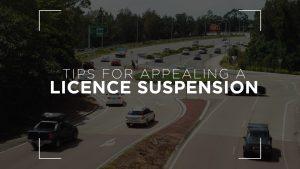 License suspension appeal