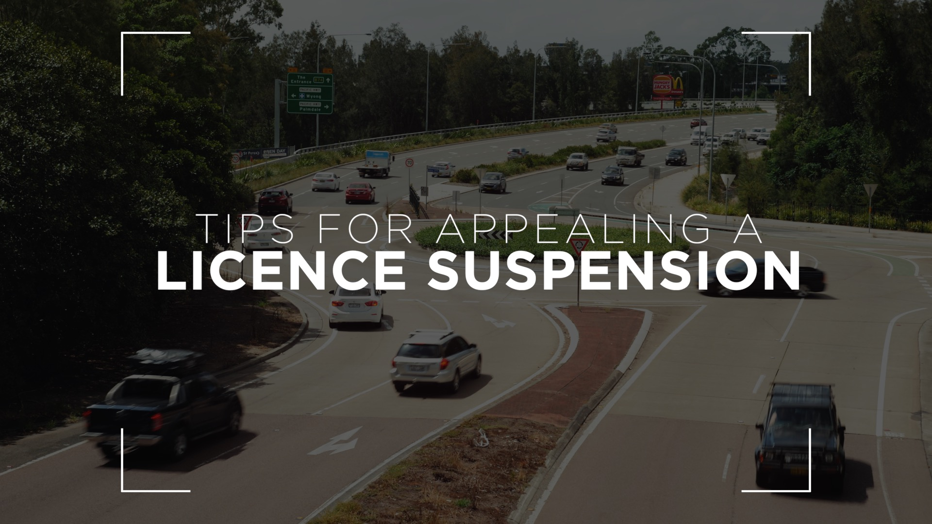 License suspension appeal
