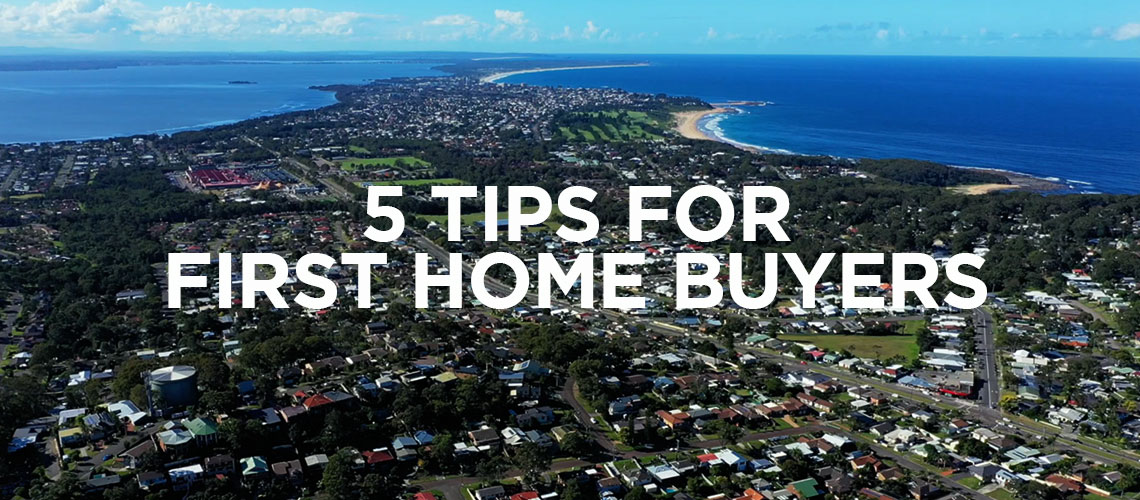 5 Tips for first home buyers header