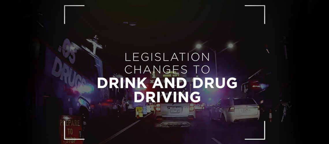 Drink and Drug Driving Legislation Feature Image
